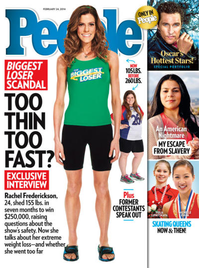Rachel Frederickson People Cover