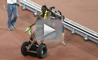 Usain Bolt: Taken Out By a Segway!