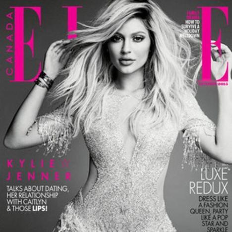 Kylie Jenner: Elle Canada December 2015 Cover