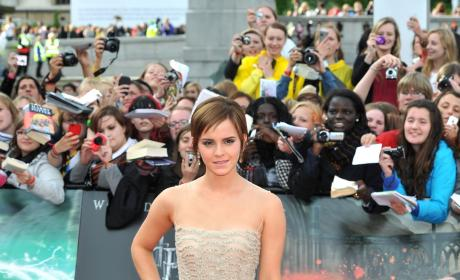 Emma Watson Reveals Harry Potter Cast Crush