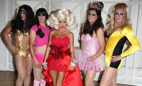 Katie Price: Birthing and Partying!