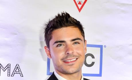 Zac Efron at Toronto Film Festival