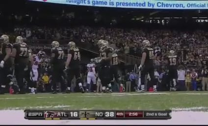 Drew Brees Sets NFL Single-Season Passing Record (VIDEO)