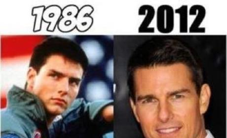 Top Gun Stars: Then and Now