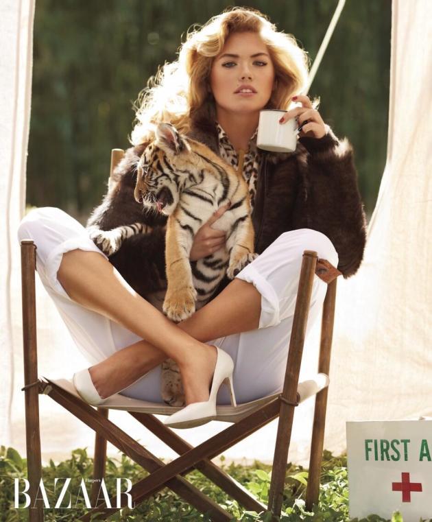 Kate Upton, Tiger