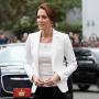 Kate Middleton White Blazer Victoria Canada 2016