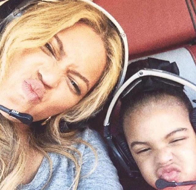 Beyonce and blue ivy meant mugging