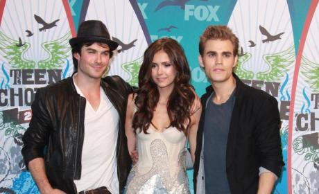 Which Vampire Diaries hunk looked hottest at the TCAs?