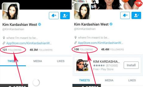 Kim Kardashian Twitter Followers Photo