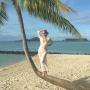Yolanda Foster in Tahiti