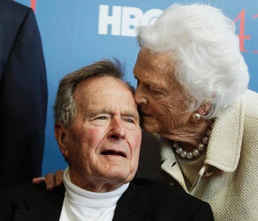 George and Barbara Bush