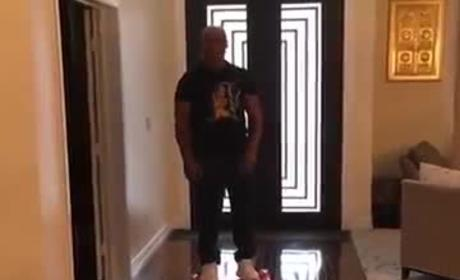 Mike Tyson Gets Knocked Out By Hoverboard