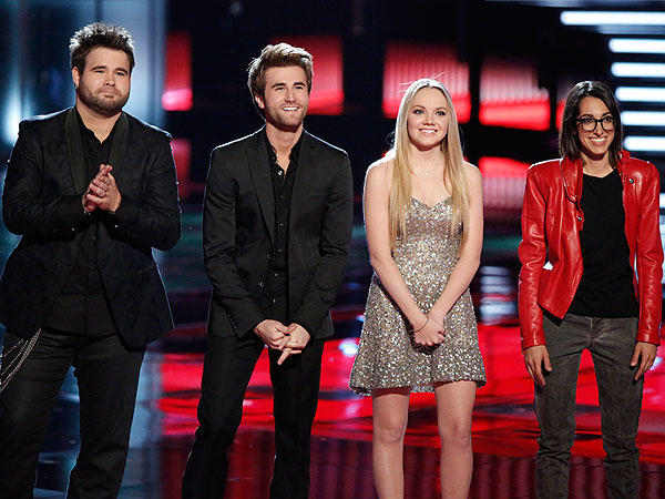 The Voice Season 4 Finalists