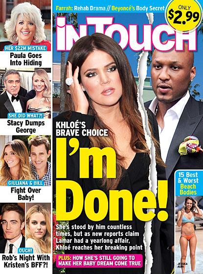 Khloe Kardashian: Done!