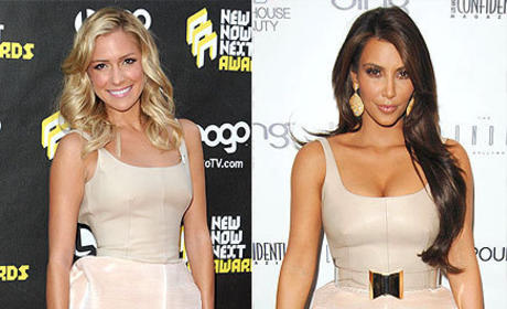 Fashion Face-Off: Kristin Cavallari vs. Kim Kardashian