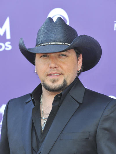 Jason Aldean at the ACMs