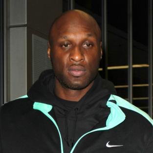 Lamar Odom in Tracksuit