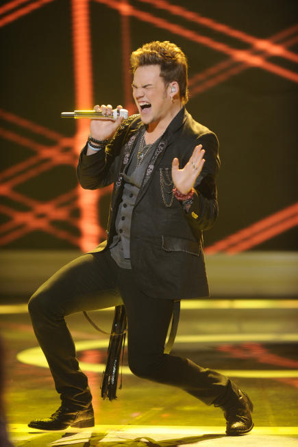 James Durbin Performance Pic