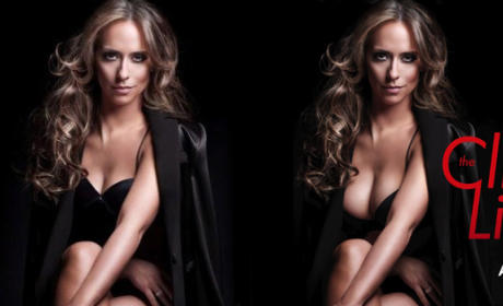 Jennifer Love Hewitt Cleavage: Covered Up in New Ads For The Client List!