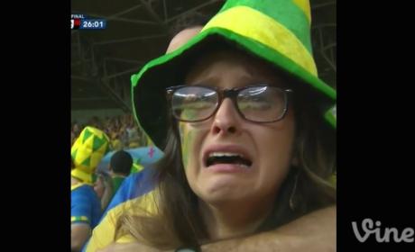 Angry Brazil Fan