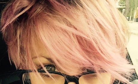 Kaley Cuoco-Sweeting Goes ALL Pink: See the Photo!