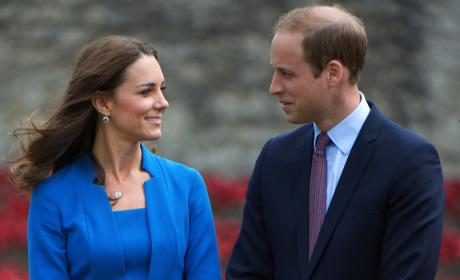 Kate Middleton and Prince William to Name Second Child After Princess Diana?