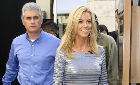Steve Neild and Kate Gosselin Photo