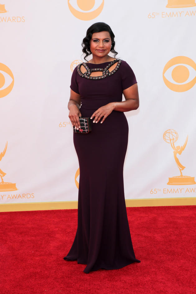Mindy Kaling at the Emmys