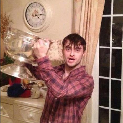 Daniel Radcliffe Parties!