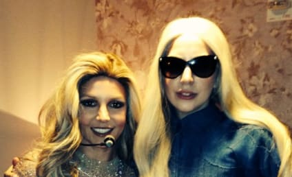 Britney Spears and Lady Gaga: Backstage Bonding in Vegas!