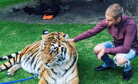 Justin Bieber: Criticized By PETA For Controversial Photo