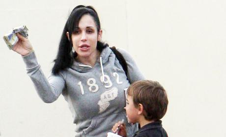 Octomom: Scared of Fetish Video Fallout, Unaware of Co-Star's Criminal Past