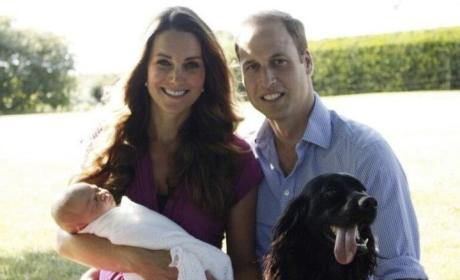 Prince George's First Family Photos