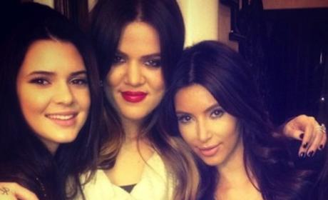 Khloe, Kim and Kendall