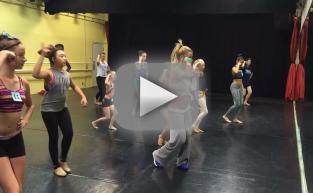 Britney Spears Teaches Dance Class