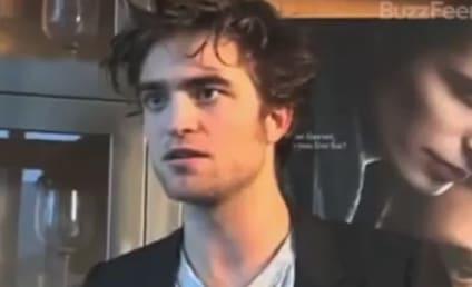 Robert Pattinson Hates on The Twilight Saga, Edward Cullen