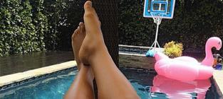 Naya Rivera Baby Bump Photo