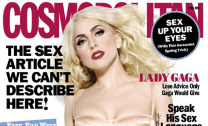 First Look: Lady Gaga in Cosmo