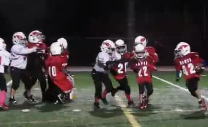 """Youth Football Team Simply Must """"Whip"""" in Middle of Game"""