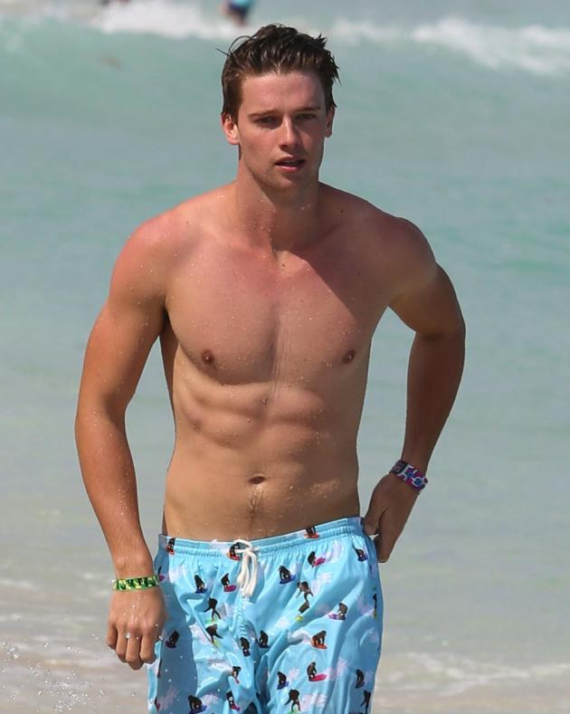 Patrick Schwarzenegger Shirtless