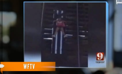 Woman Walks for Breast Cancer Awareness, Gets Stuck on Open Drawbridge