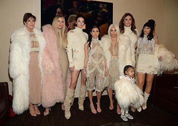 All the Kardashian-Jenner women were on fleek AF