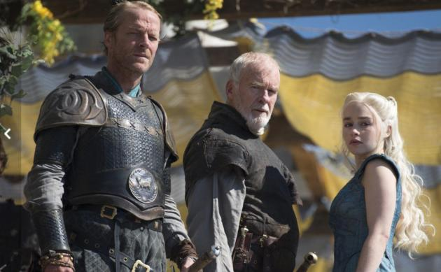 Dany and Her Right-Hand Men