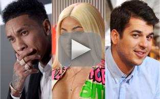 Tyga: Blac Chyna Sucks at Parenting ... But Rob Kardashian's Cool