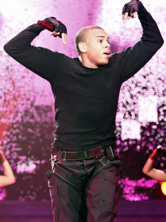 Chris Brown Live Picture
