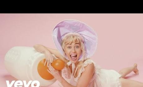 Miley Cyrus Acts Like Big Baby in New Music Video