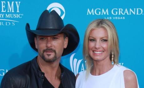 Faith Hill to Carrie Underwood: I'm Happy for You. Really.