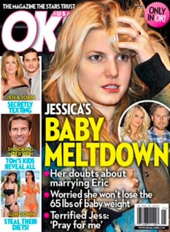 Jessica Simpson Baby Meltdown
