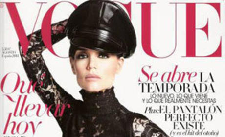 Katie Holmes in Vogue Spain: Getting Her Dominatrix On!