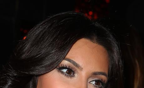 Close Up of Kim Kardashian